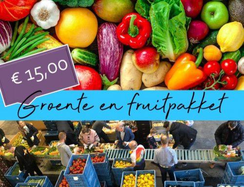 Groentepakkettenactie voor De Hoop Dordrecht