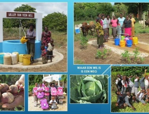 Update vanuit Kenia, project Wim van den Burg