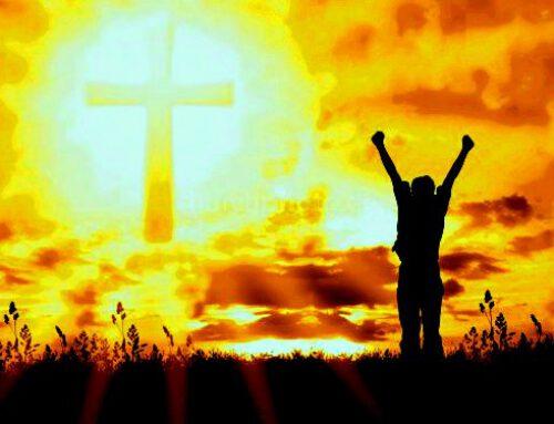 Paasmorgen; Jezus Overwinnaar!