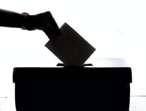 Bidden voor de verkiezingen