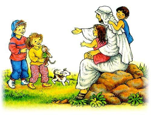 Voor de kinderen bij de dienst van 21 maart